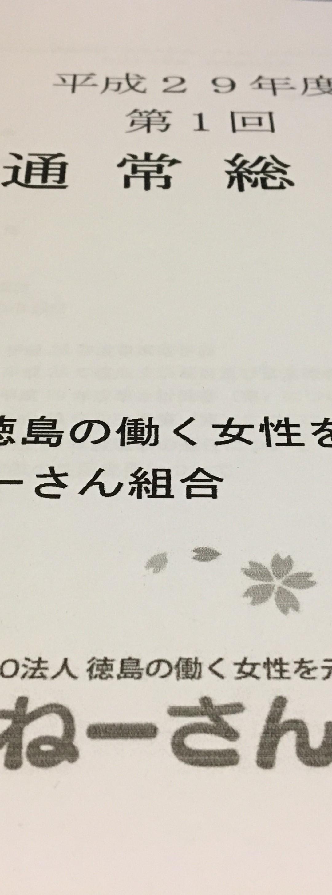 平成29年度通常総会