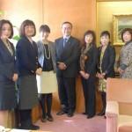 徳島県知事を表敬訪問